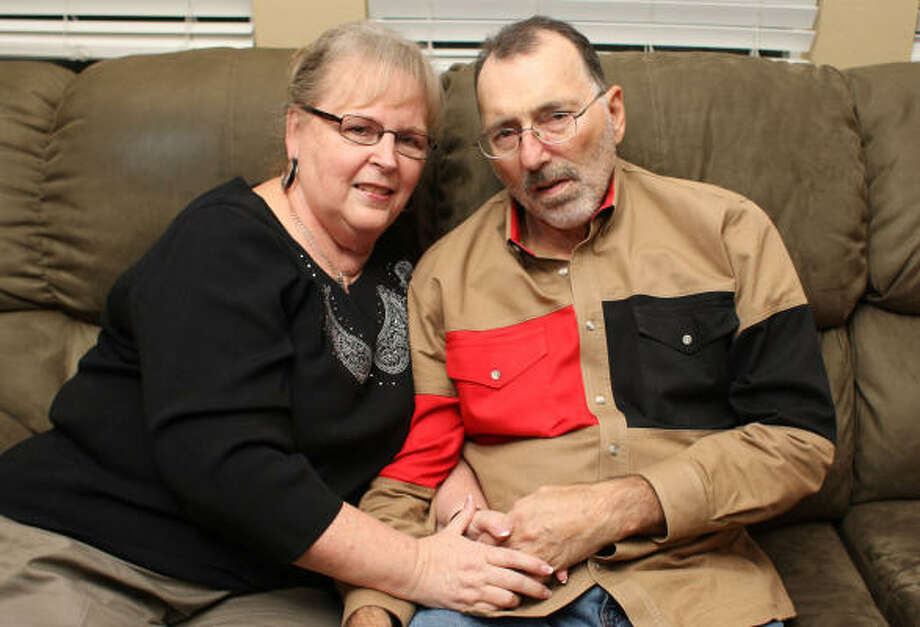 Linda and Dennis Shippey met while attending high school in Iowa. They soon moved to Pasadena. Photo: Julio Cortez, Chronicle