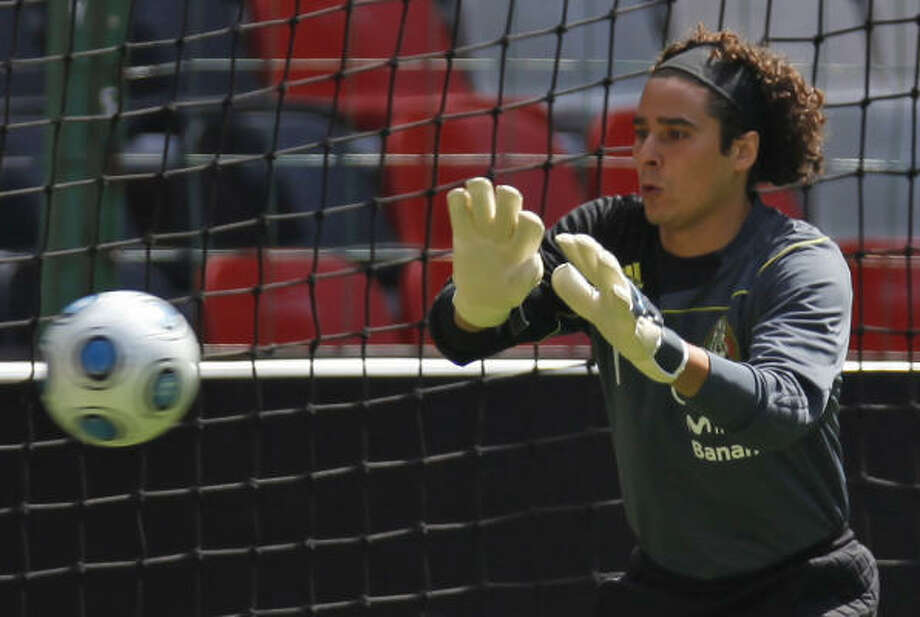 Guillermo Ochoa, goalkeeper for Mexico's national team, plays for star-studded Club America. Photo: Claudio Cruz, AP