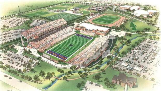 solomon stadium plans show prairie view 39 s progress houston chronicle. Black Bedroom Furniture Sets. Home Design Ideas