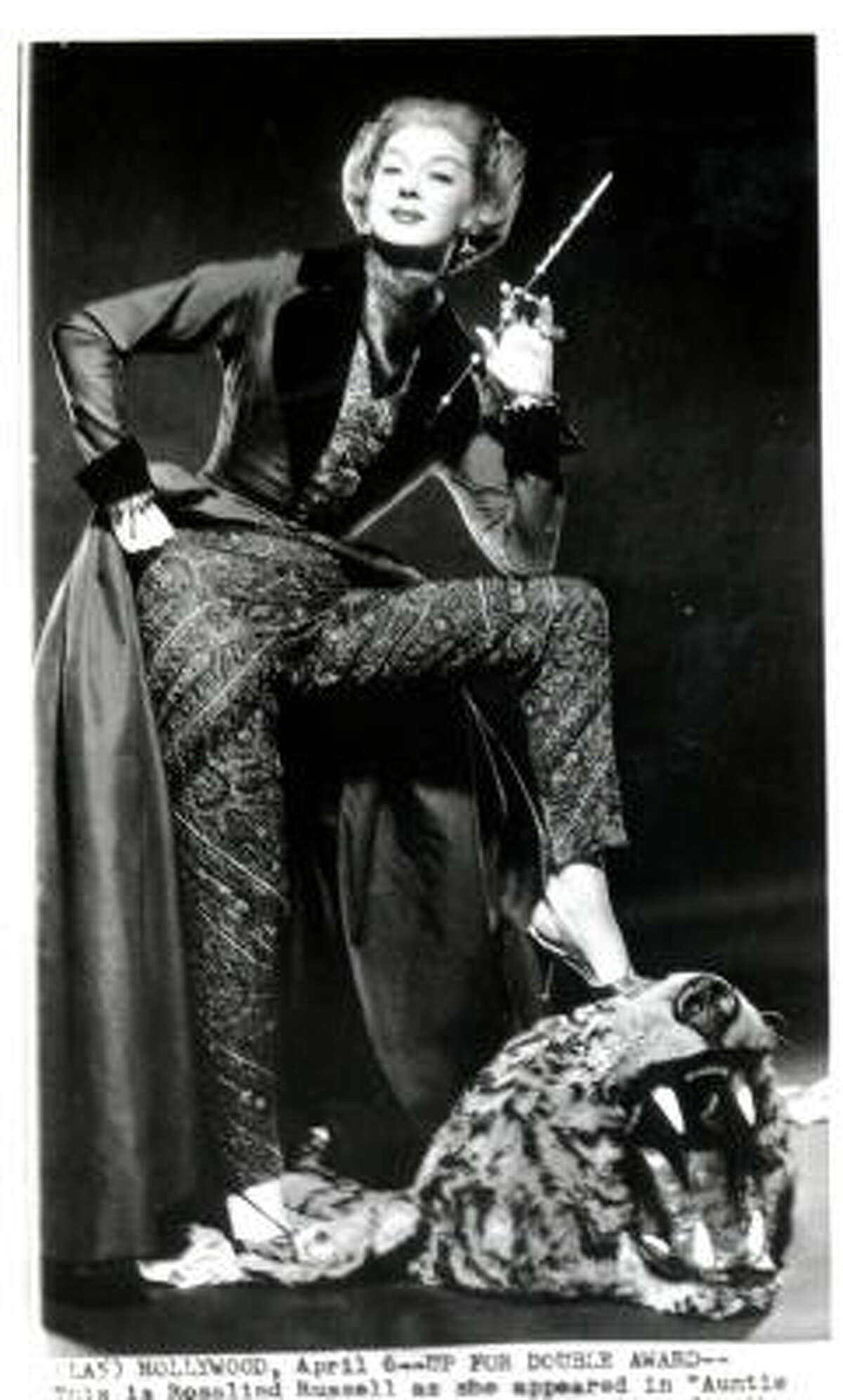 For millions, the character Auntie Mame always will be synonymous with incomparable Rosalind Russell, who originated the role on Broadway and re-created her celebrated portrayal in the hugely popular 1958 film version.