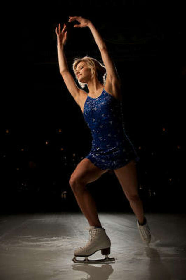 Injuries forced figure skater Becky Bereswill to reassess her training regimen. Strength and flexibility training help make her a stronger athlete. Photo: ROBERT SEALE