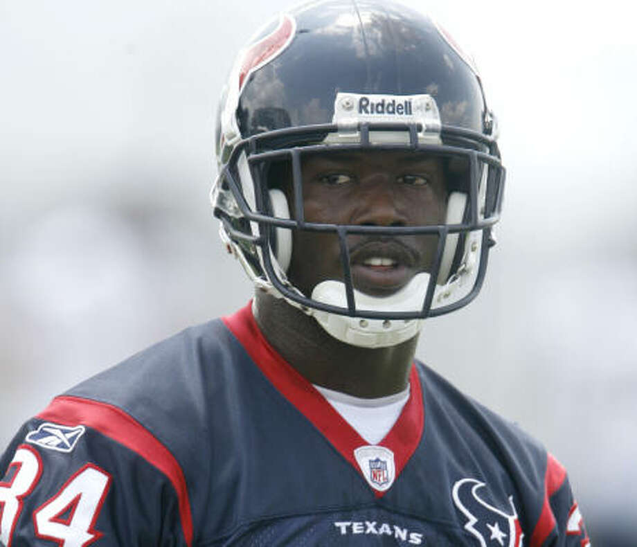 The Texans have placed Dominique Barber on injured reserve. Photo: Karen Warren, Chronicle