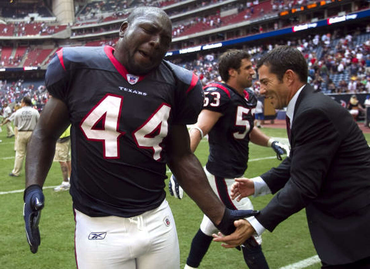 The fans have recognized Vonta Leach as the best fullback in the AFC.