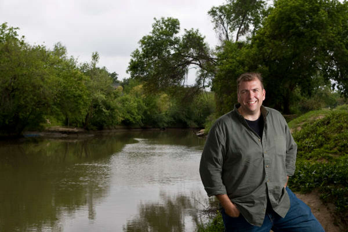 Brad Sayles said taking a canoe trip down Bufflo Bayou helped him find the inspiration for the score.