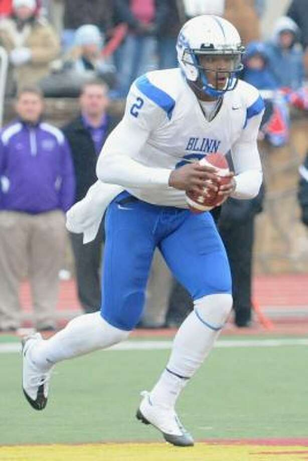Fellow students would call Cam Newton by his jersey number even though he led Blinn College to No. 1. Photo: Photo Courtesy Of Blinn College
