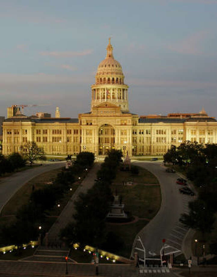 The Texas Capitol Photo: Harry Cabluck, Associated Press