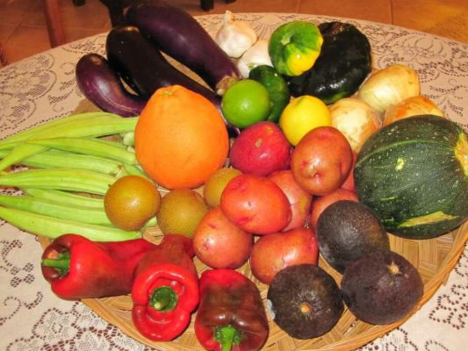 security begins at home: Growing veggies like these at home is a great place to start promoting food security.