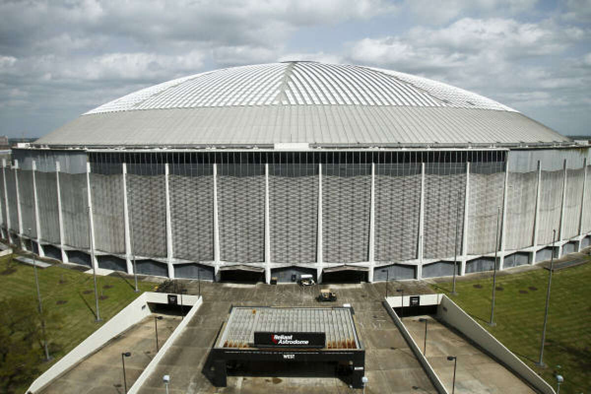 The Astrodome's debt and interest payments, which will total more than $2.4 million this year, would have to be considered in any redevelopment deal, one official said.