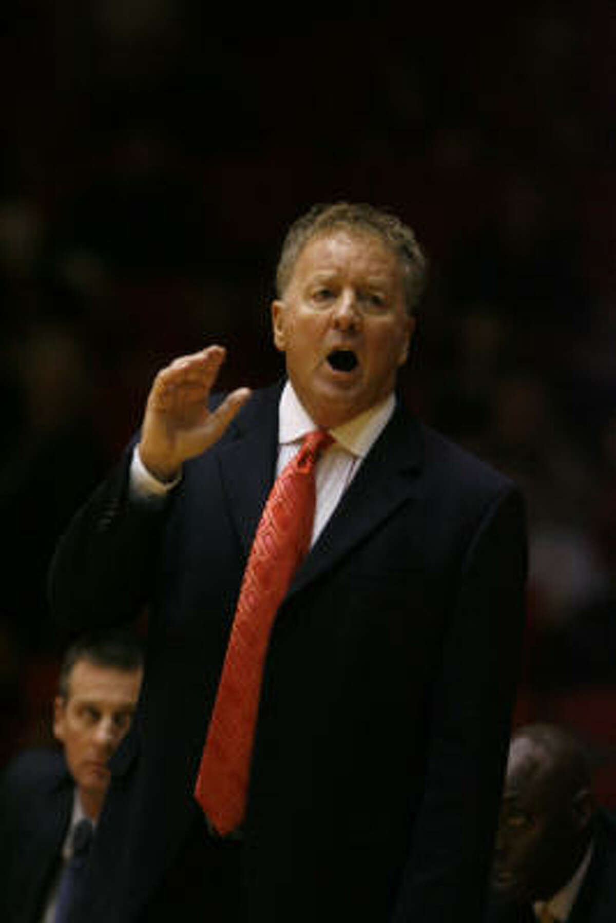 UH had an APR score below the minimum accepted standard for four academic years while Tom Penders was coach.