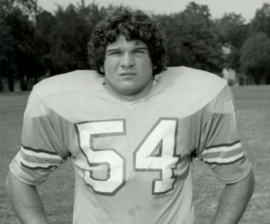 Greg Bingham played linebacker for the Oilers from 1973-84. Photo: Chronicle File