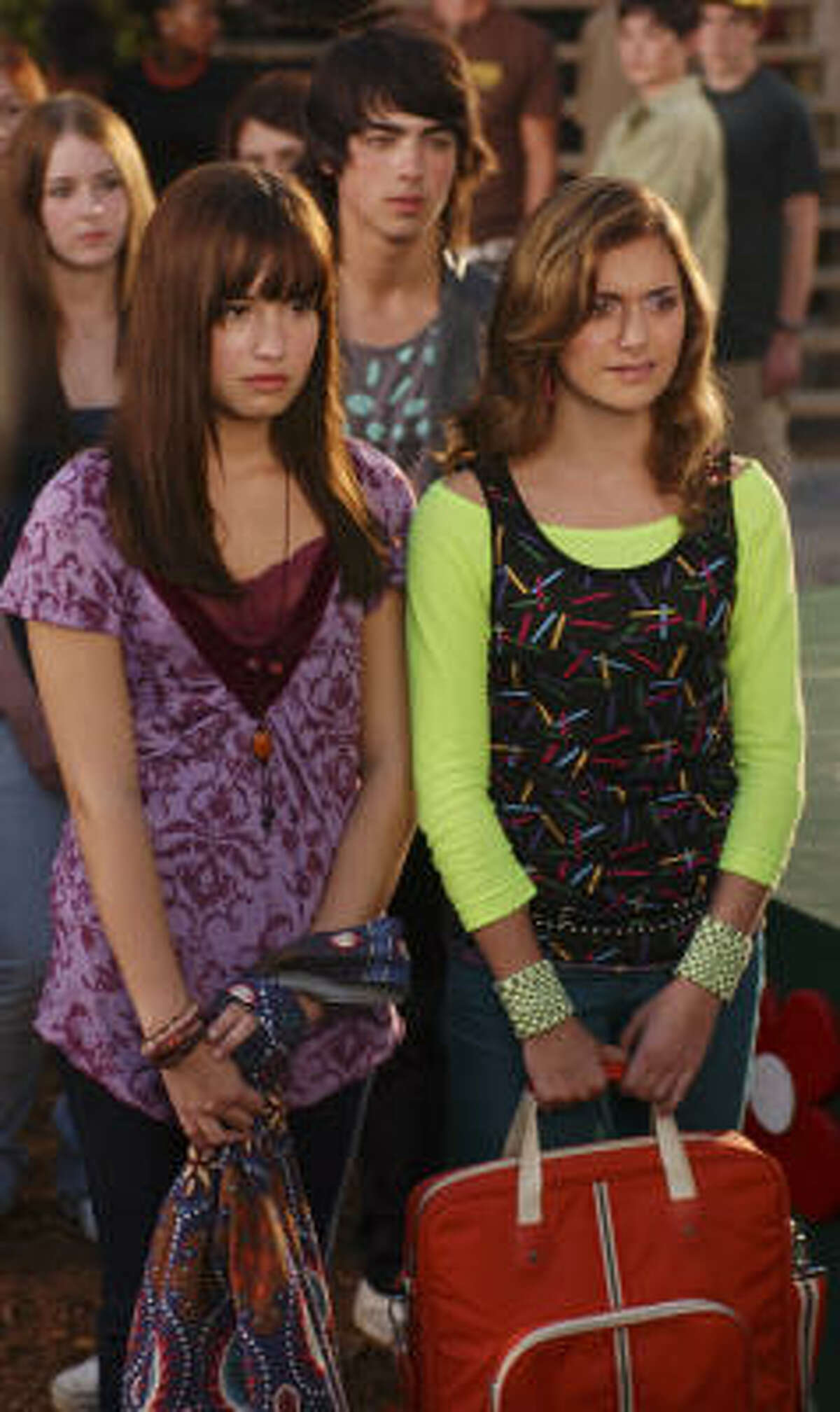 Camp Rock On Monday, May 30 at 6:15 p.m., you can check Demi Lovato in her first star turn in this movie, in which she plays a small-town nobody at a Jonas-infused summer camp. Ah, memories.