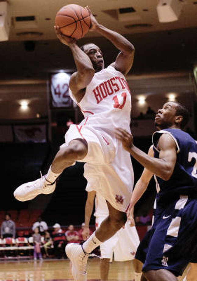 The departure of Desmond Wade leaves UH with only one player who started for the Cougars in this year's NCAA Tournament. Photo: Bob Levey, For The Chronicle