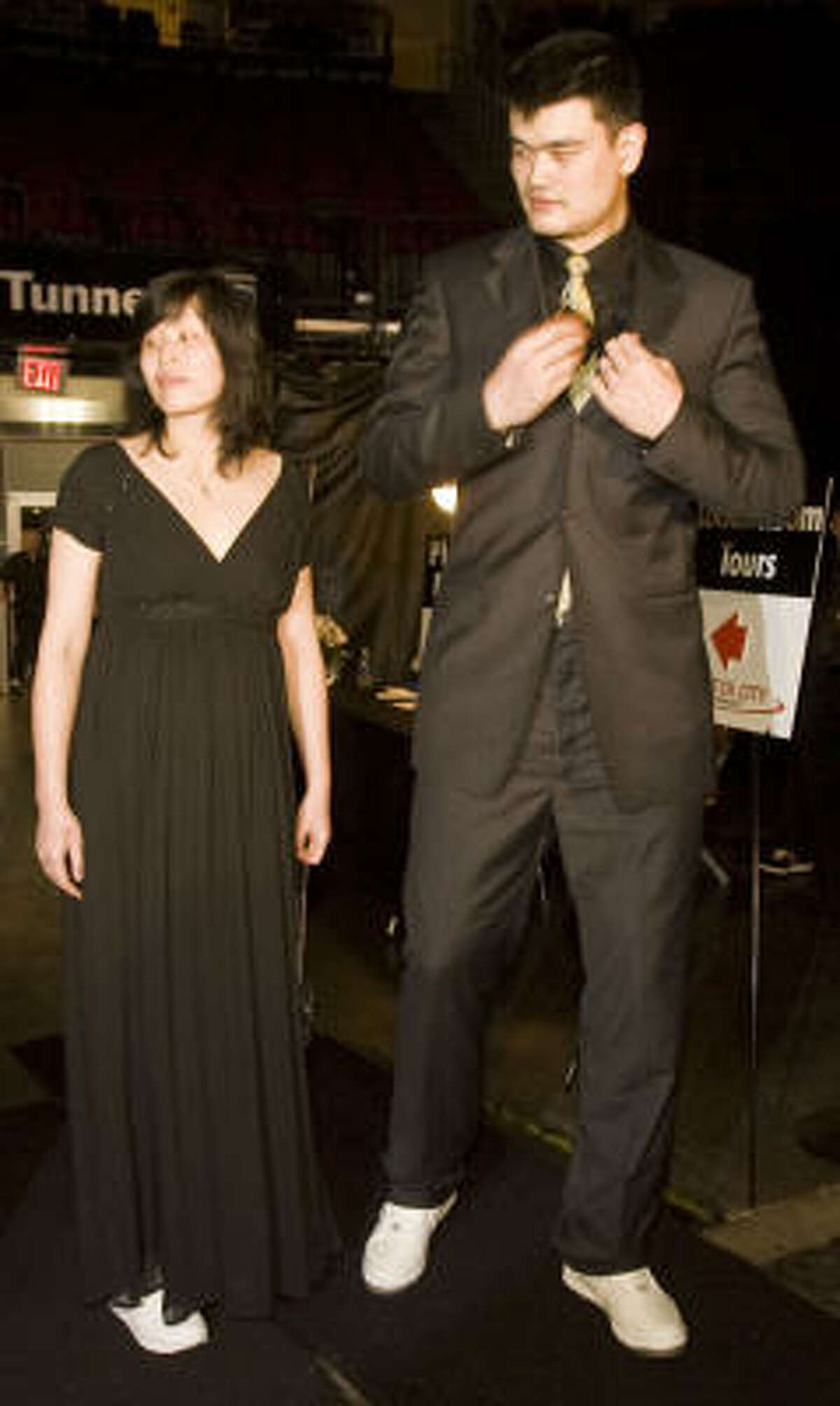 Yao Ming and his wife Ye Li did not release the name of the baby.