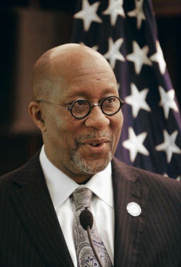 """Ron Kirk, U.S. trade representative, is a former Texas secretary of state. A friend says Kirk is the """"king of any room he walks into."""" Photo: Kevin Lee, Bloomberg"""