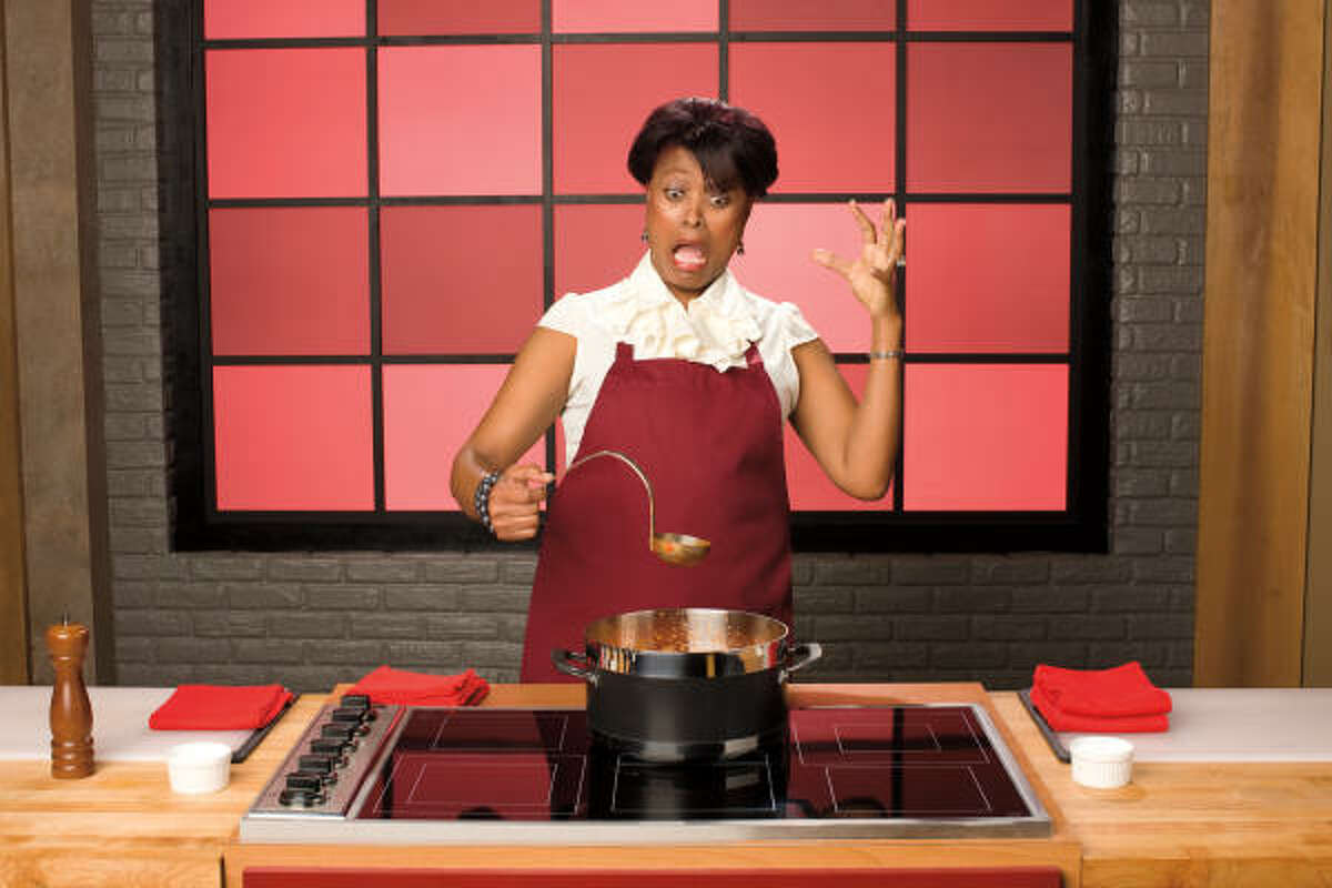 FOOD NETWORK PHOTO TV STAR: Priscilla Harden will be a contestant on Worst Cooks in America on the Food Network.