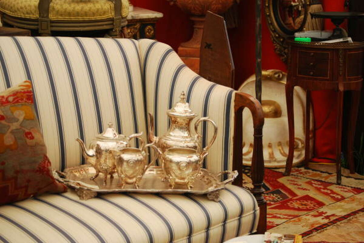 For fine antiques, check out Marburger Farm and the Original Round Top Antiques Fair.