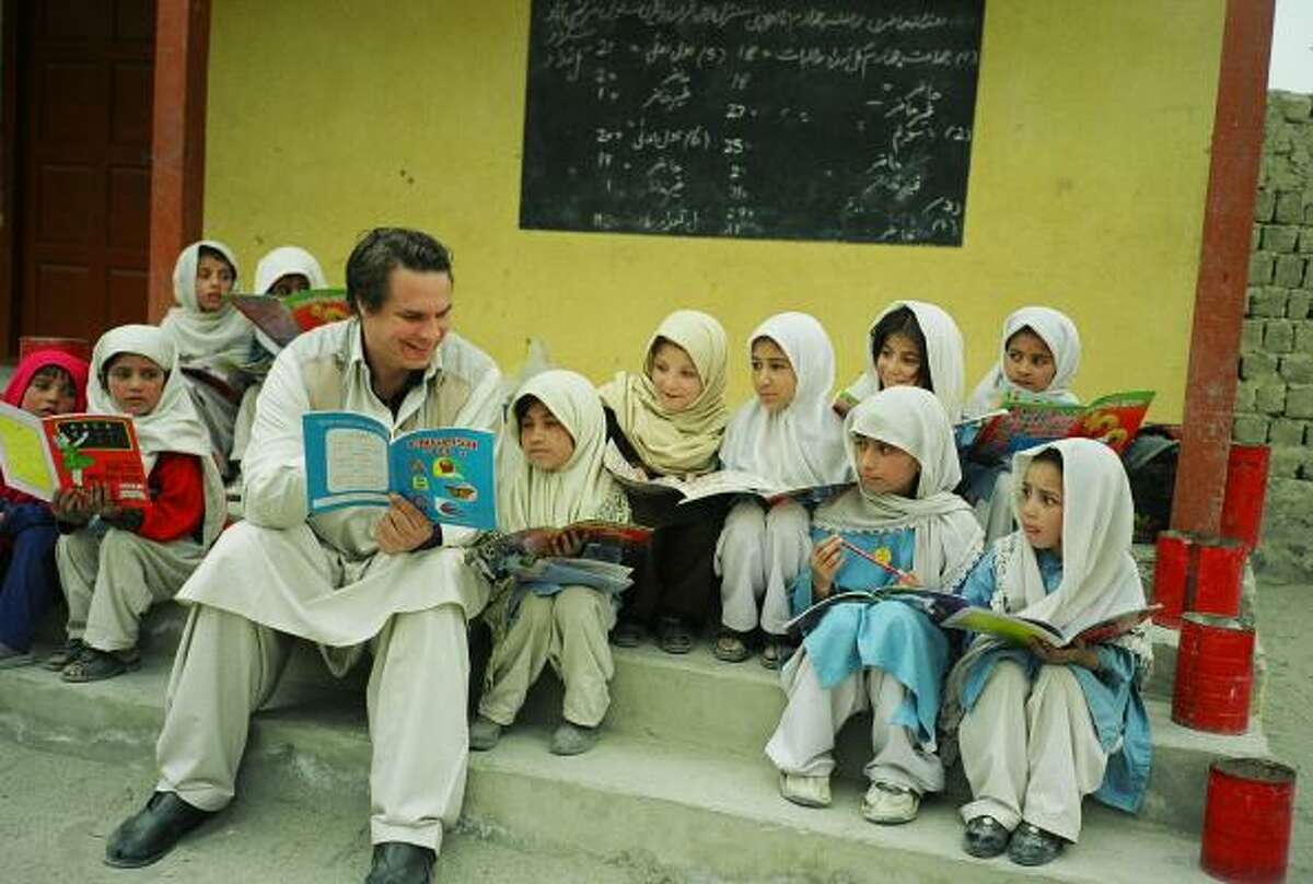 Greg Mortensen has set up schools for more than 58,000 children living in rural Pakistan and Afghanistan.
