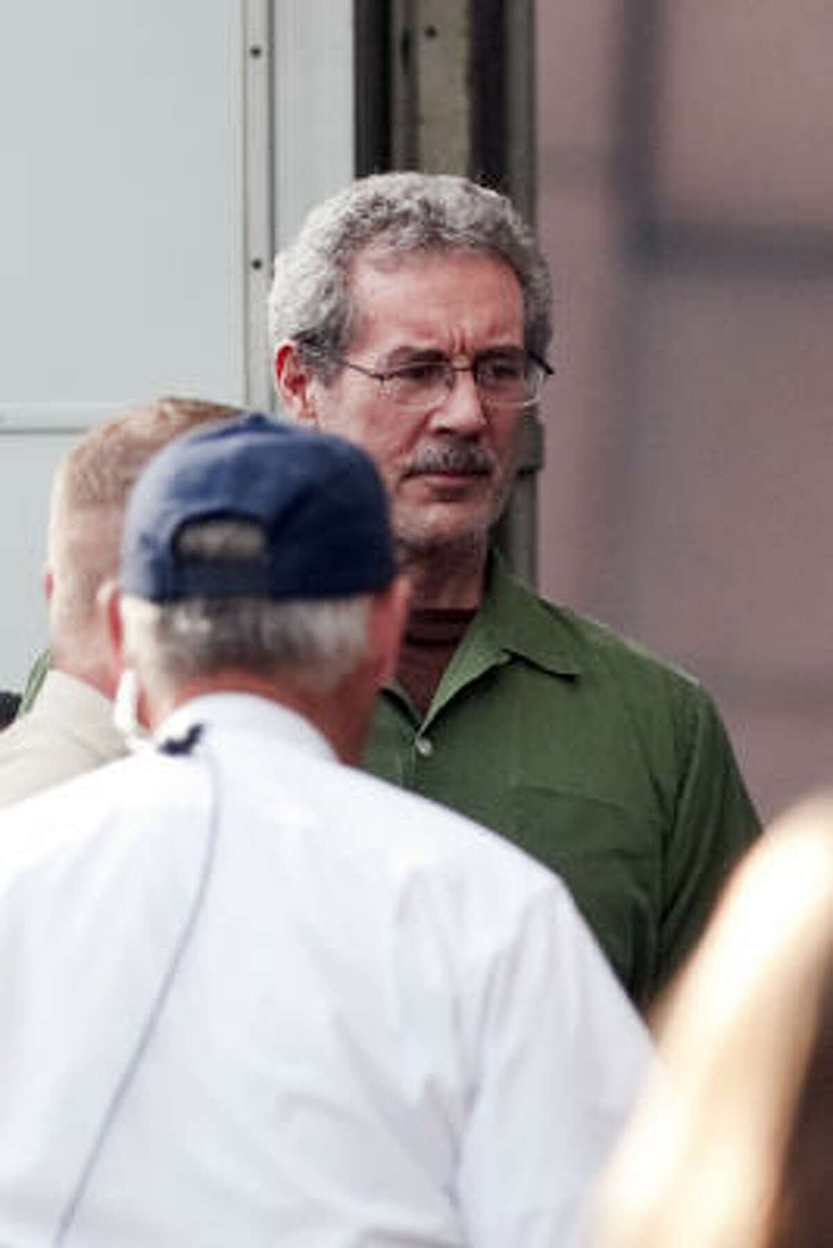 R. Allen Stanford (shown Tuesday) said his current lawyer, Robert S. Bennett, is the first to give him hope in some time.