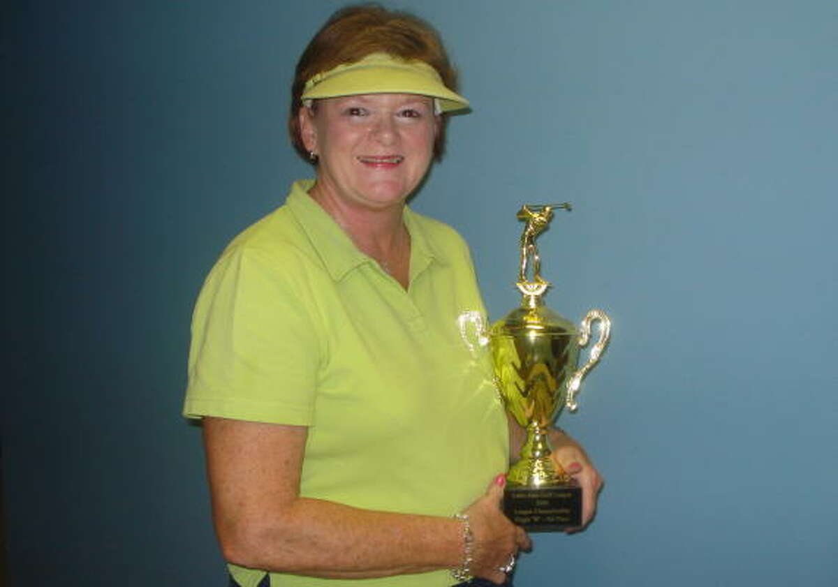 Linda Putback-Bean has spent the past 12 years playing in the Little John Golf League.