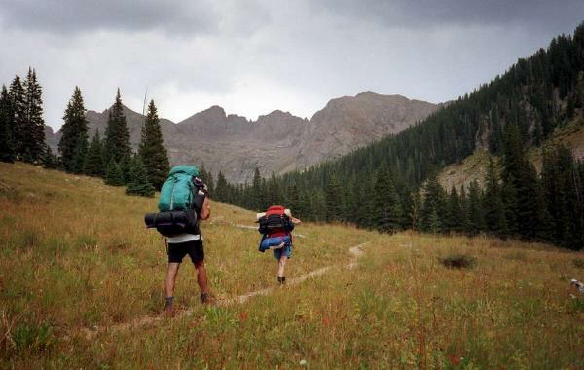 The San Juan Mountains are a popular hiking spot for visitors to Telluride, Colo.