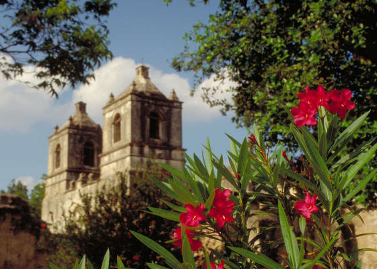 Mission Concepción is one of the original Spanish missions in the city.