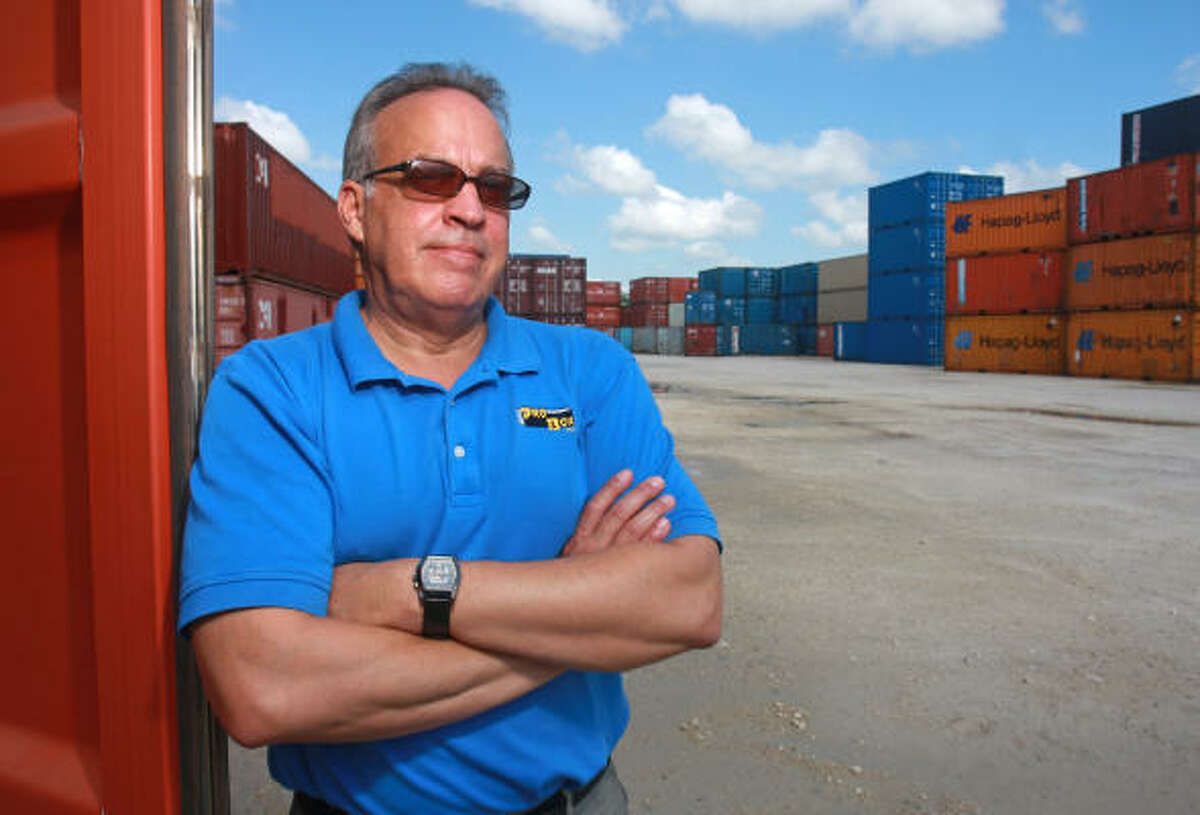 Steve McVille, president of Pro Box, says the container shortage has