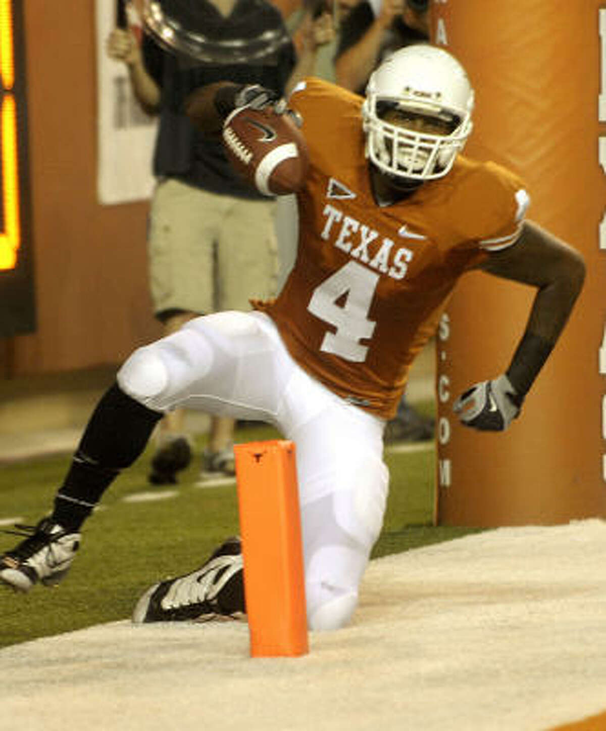 Texas coach Mack Brown said wide receiver Dan Buckner will be released from his scholarship.