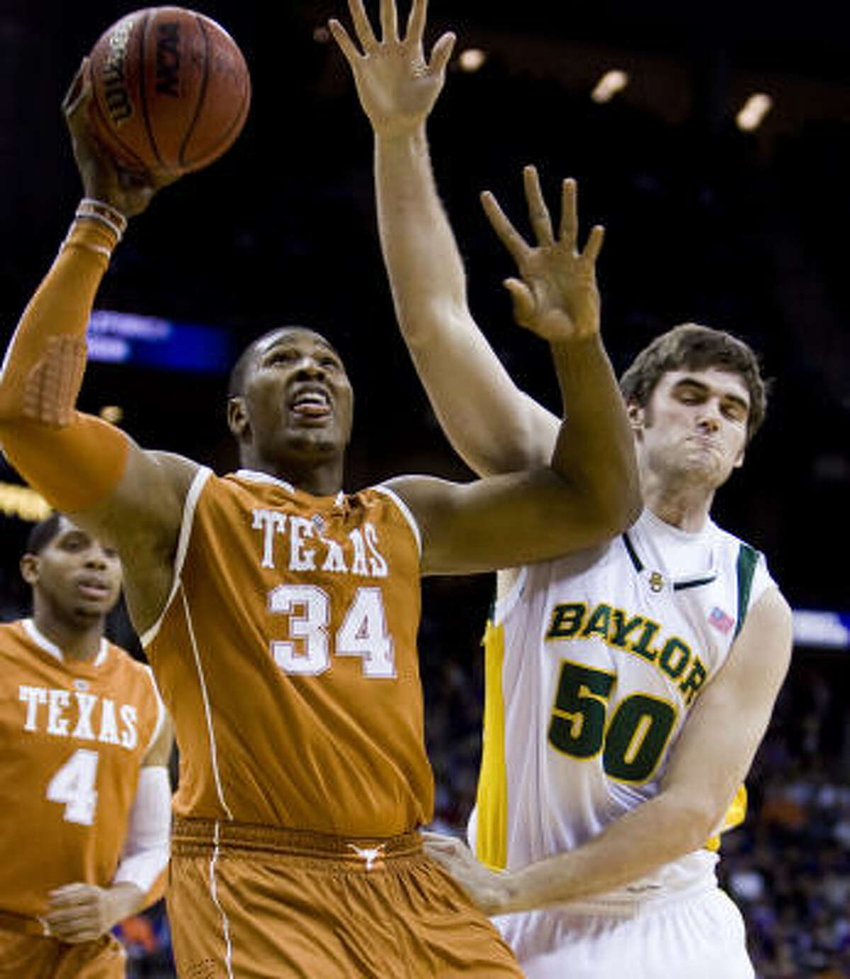 Dexter Pittman and the Longhorns will begin their Tournament journey in New Orleans against Wake Forest.