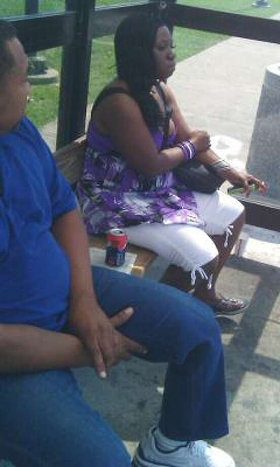 Police say this photo was taken at the transit center. Photo: Crime Stoppers