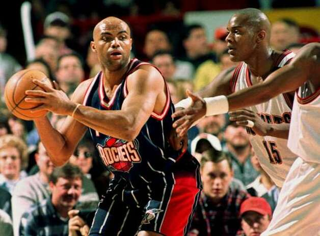 Charles Barkley battled through four seasons and posted averages of 16.5 points and 12.2 rebounds a game. Photo: DAVID ZALUBOWSKI, AP