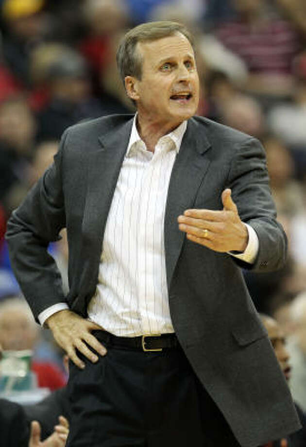 Texas coach Rick Barnes is tired of talking about his team's shortcomings last season. Photo: Jamie Squire, Getty Images