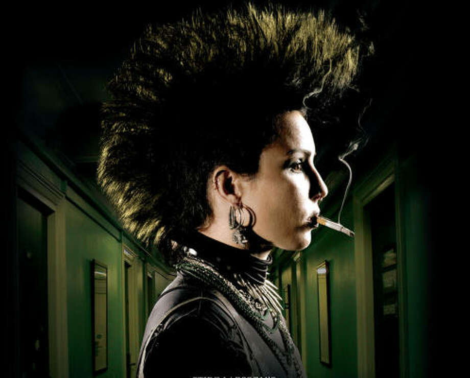 Noomi Rapace stars as Lisbeth Salander Photo: Music Box Films