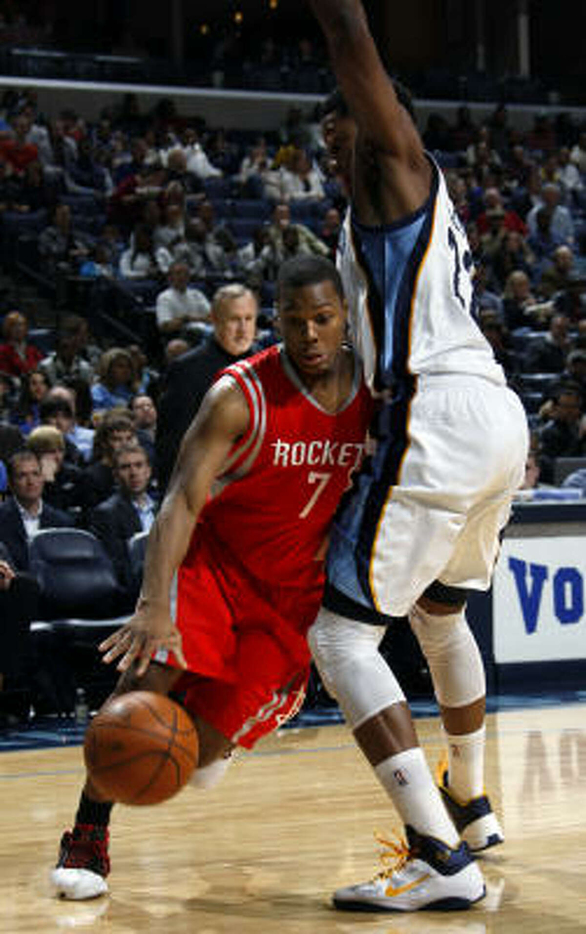 Rockets guard Kyle Lowry had 28 points and 12 assists in the victory Friday night.