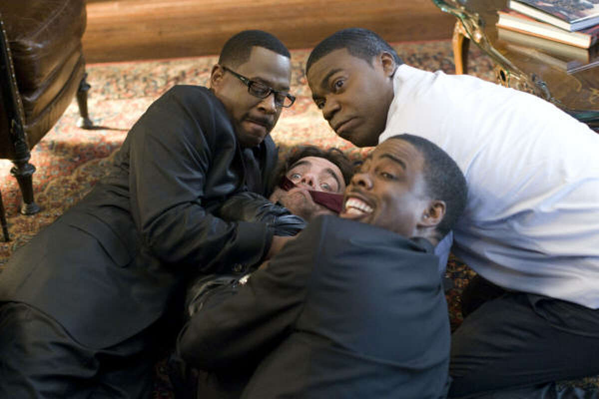 Martin Lawrence, Peter Dinklage, Tracy Morgan and Chris Rock star in