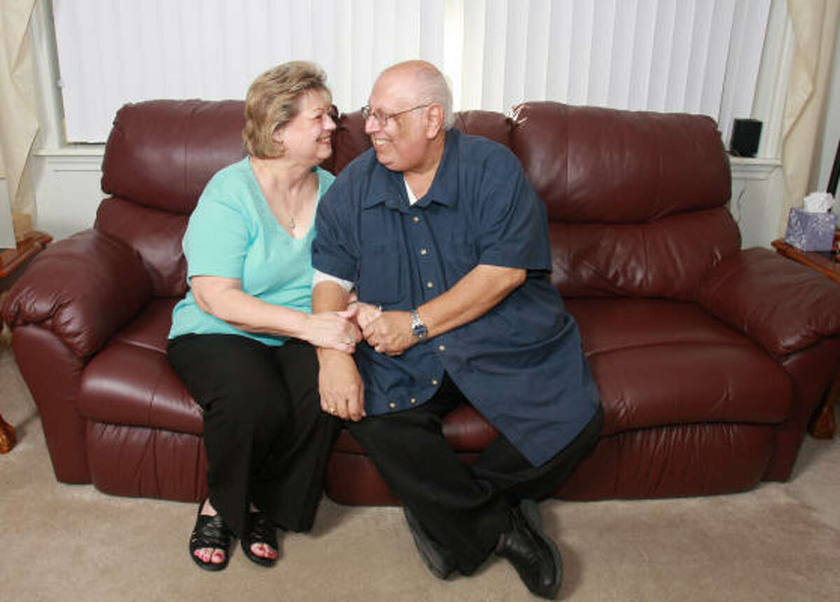 Donna and Steve Benavides will celeberate 12 years of marital bliss in August.