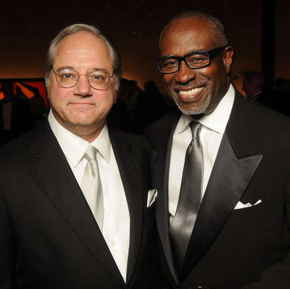 Anthony Petrello, left, and Gerald Smith