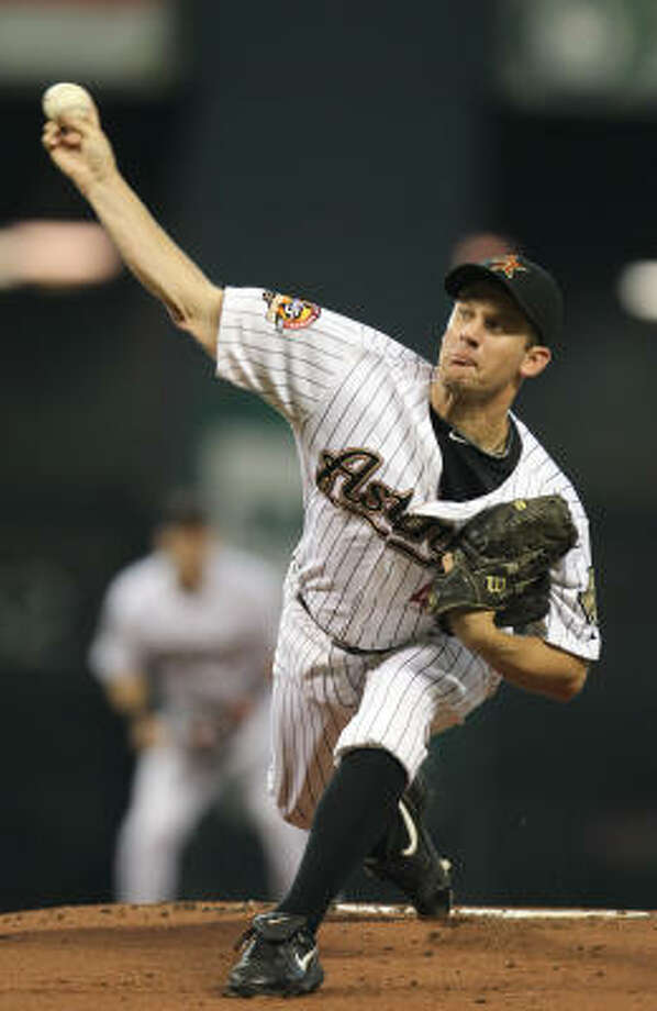Roy Oswalt announced that he wanted out six weeks ago, but a deal has yet to be made. Photo: Karen Warren, Chronicle