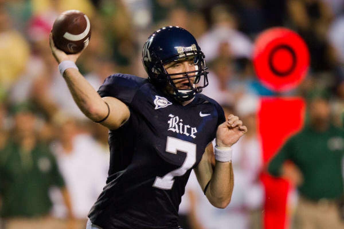 Nick Fanuzzi will get the starting nod against UH at the annual Bayou Bucket on Saturday.