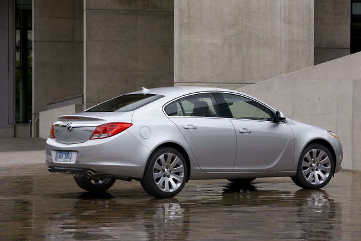 Buick's 2011 Regal gets efficient four-cylinder power: a 182-horsepower 2.4-liter Ecotec direct-injected four-cylinder in the CXL and a 2.0-liter, rated at 220 horsepower in the CXL turbo.