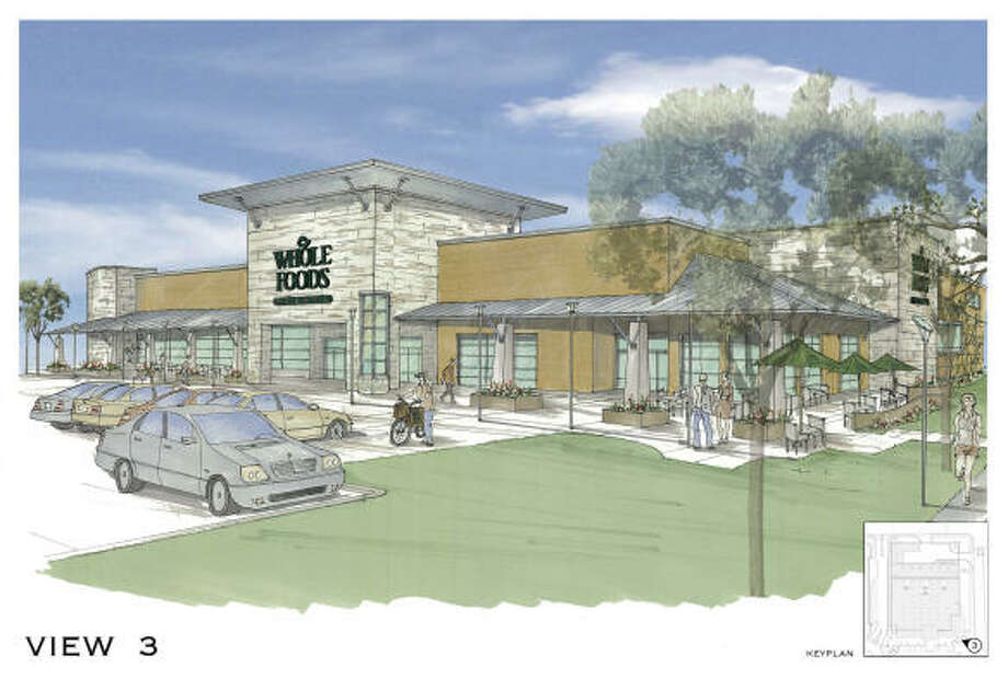 When Finger Cos. bought land at West Dallas and Waugh for a Whole Foods Market, it planned to build a larger store with underground parking.  Photo: Beckham Design Group
