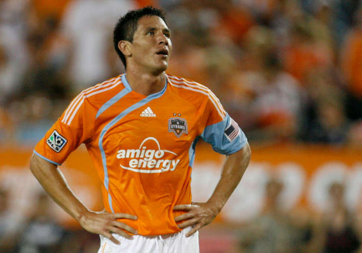 Dynamo forward Brian Ching is nursing a sore right hamstring.
