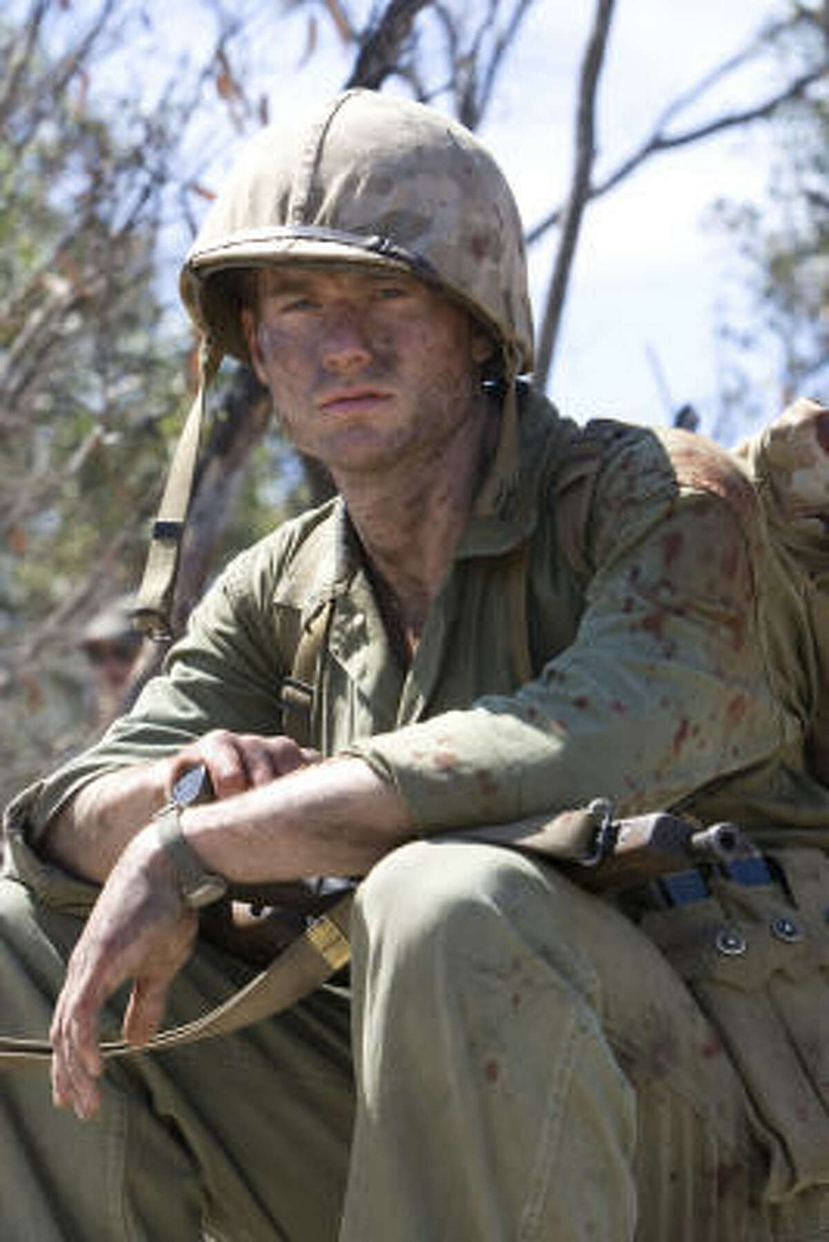 James Badge Dale stars as a young soldier.