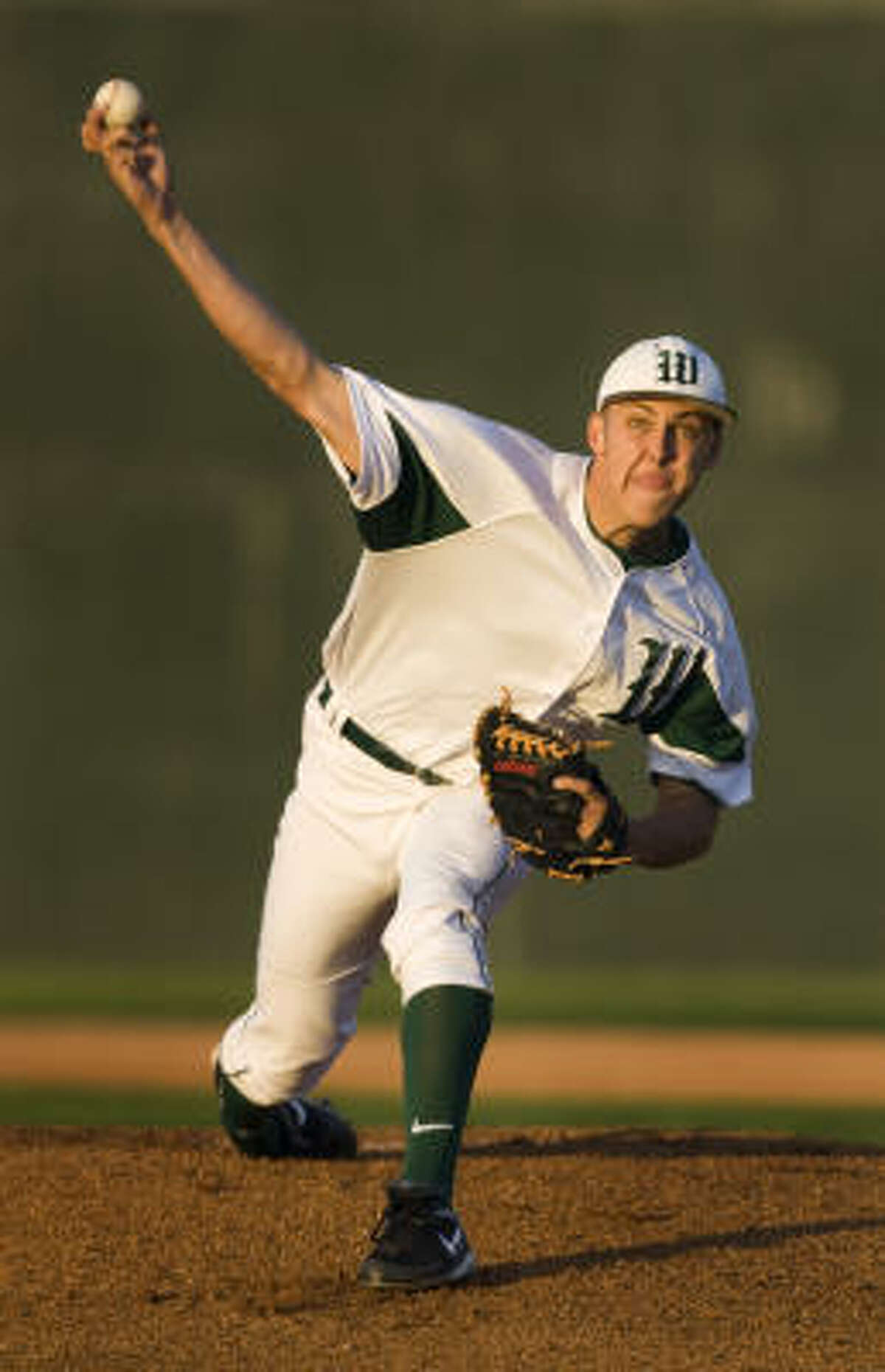 The Woodlands starter Jameson Taillon exited after surrendering six earned runs on seven hits while striking out seven.