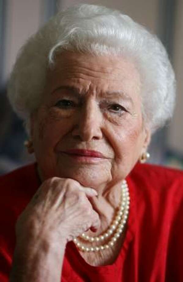 Liz Carpenter was press secretary to Lady Bird Johnson and wrote speeches for President Johnson. Photo: Chronicle File