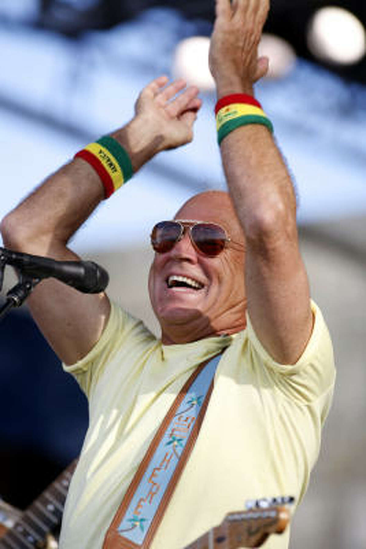 For the first time, the Cynthia Woods Mitchell Pavilion will allow tailgating prior to a concert. Jimmy Buffett fans will have the chance to party before his Thursday night show.