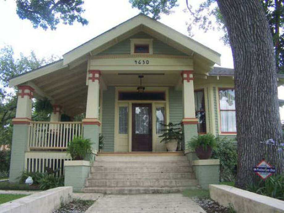 This restored Craftsman bungalow at 4630 Walker is part of the Eastwood Historic Home Tour Saturday and Oct. 17. Photo: COURTESY PHOTO