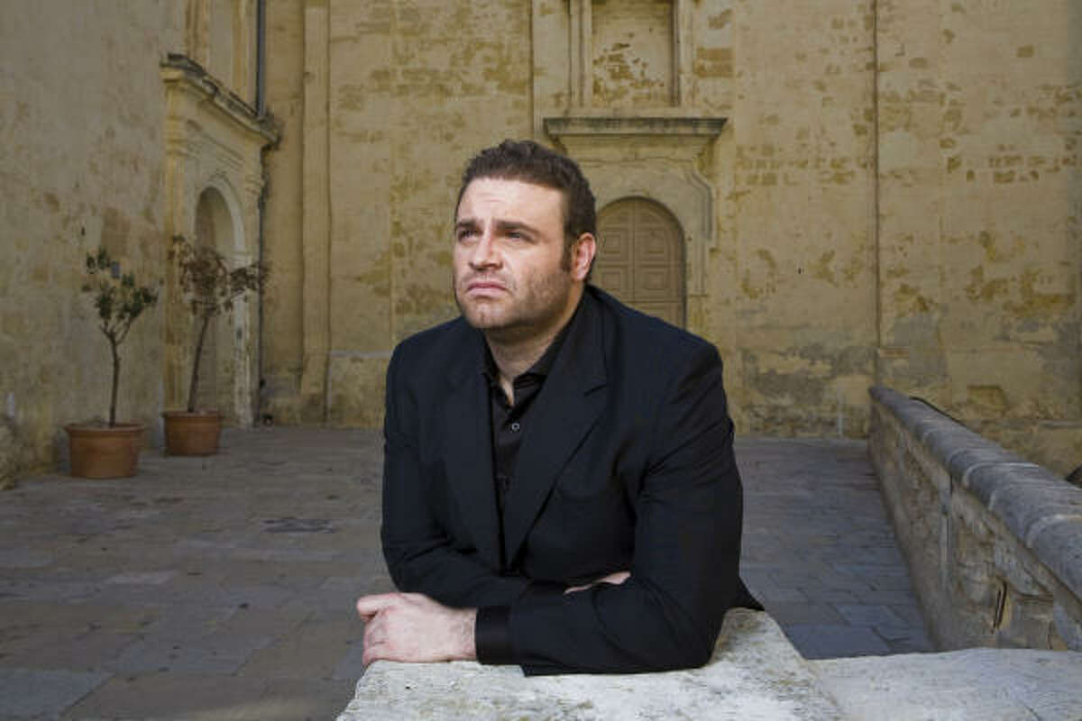 Joseph Calleja is making his presence known in Houston in Madame Butterfly with the Houston Grand Opera.