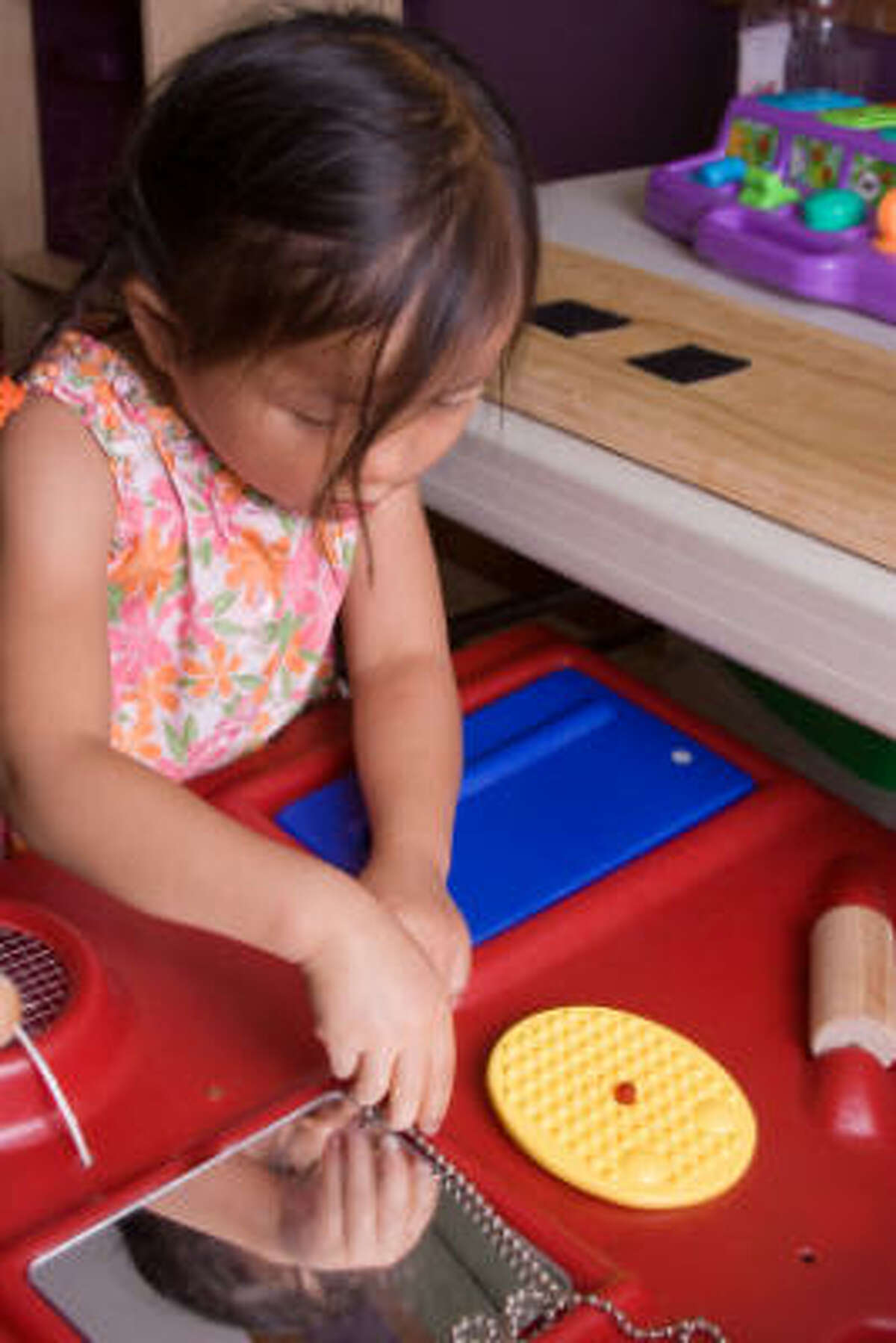START EARLY: Occupational therapists can help children with potential or known delays improve skills at a very young age to minimize the potential for delays later in life.