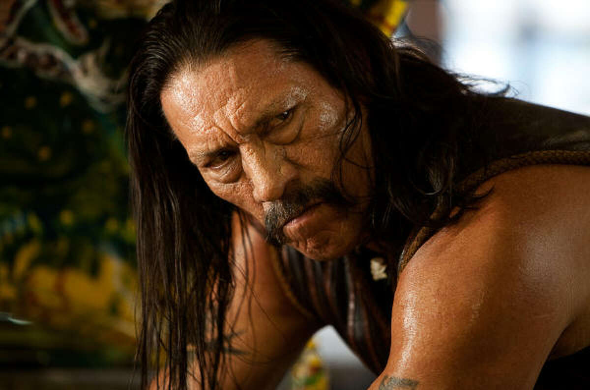 Danny Trejo is Machete, a legendary ex-Federale with a deadly attitude and the skills to match.