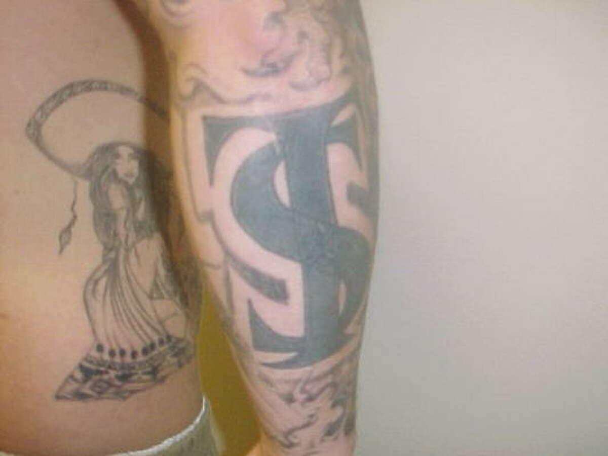 Tatuaje: la señal más visible de pertenencia a una pandilla.